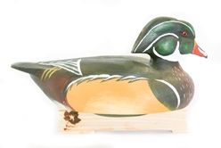 Wooden Wood Duck